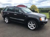 "2007 Jeep Grand Cherokee 3.0crd Limited Auto / Part Exchange Welcome / 20"" Startech Alloys"