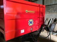 refurbished Marshall 8t trailer