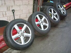 18 alloy wheels KIA SORENTO