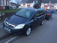 Vauxhall zafira 7 seater diesel top of the range