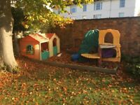 Wendy Houses / Playhouses and Jungle Climber Little Tikes