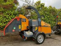Forst ST8 - 8 Wheeled Woodchipper