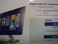 lenovo a540 23.8 all-in-one touchscreen pc