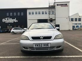 Lovely 2002 Vauxhall Astra 1.8 Convertible part service history 12 months MOT £895