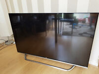 LG 55UF850V 55'' Ultra HD 4K Smart 3D TV with Wifi & WebOS & Freeview HD SCREEN CRACK NEEDS REPLACED