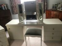 Dressing Table + Chest of Drawers