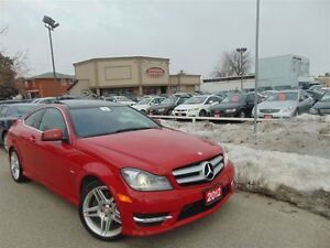 2012 Mercedes-Benz C-Class C350-AMG PKG- PANORAMIC- 2DR