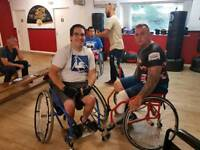 Kbd Hurricane Wheel Chair boxing