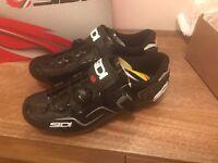Brand New Sidi Cape MTB Shoes (Black/Black)