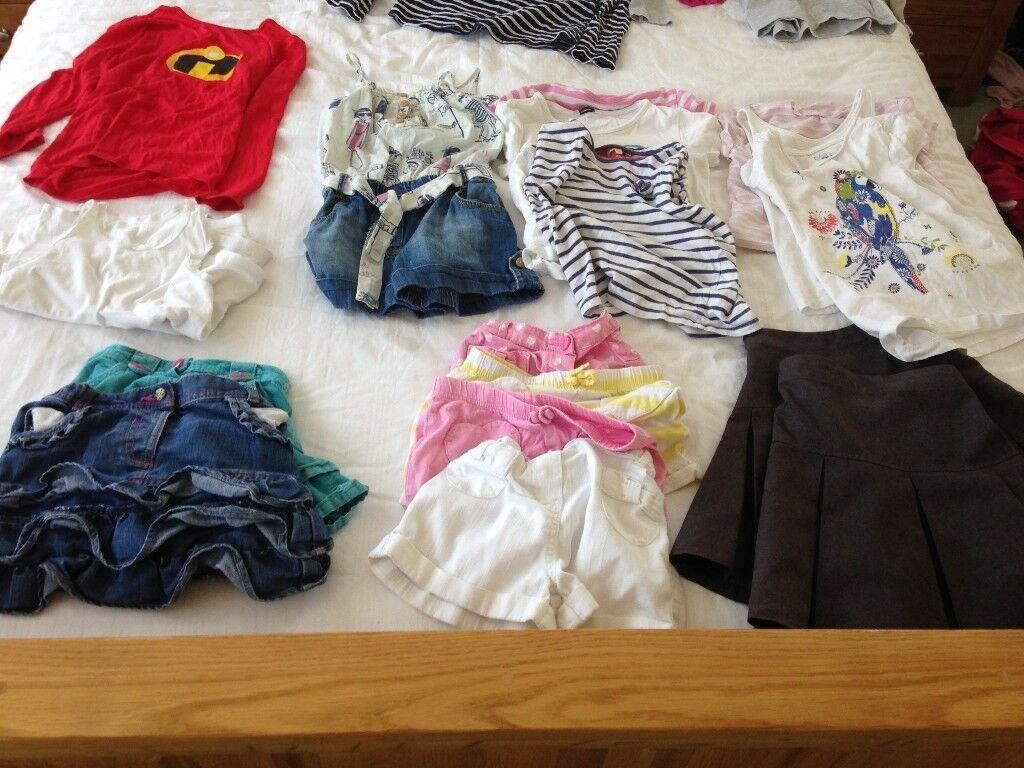 Girls clothes bundle 5-6 yrs (60+ items)