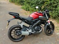 Yamaha MT 125cc with ABS 2015 model