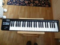 Roland A49 Midi Controller Keyboard, black, as new, boxed with manual & software