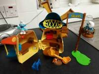 The smurfs windmill playset