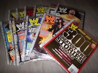 Collection Of WWE Magazines