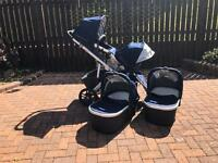 Uppababy Vista Double travel system