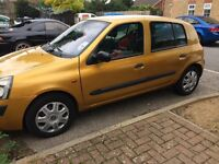 Gold 55 plate Renault clio