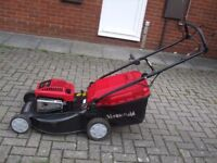 "petral lown mower Mountfiel self propelled 51cm/20"" cut"
