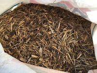 Garden woodchip/bark