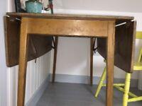 Vintage/retro extendable desk/kitchen table