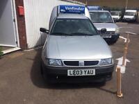 LEFT HAND DRIVE SEAT INCA SDI VAN IN SILVER ONLY £1495 NO VAT