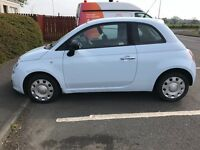 Fiat 500 with a year MOT