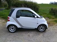 Smart Fortwo Pure 61 Auto Coupe semi automatic. PAS, A/C, EW, CL, switchable Start/Stop. Airbags.