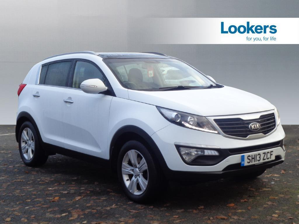 kia sportage crdi 2 white 2013 06 14 in motherwell north lanarkshire gumtree. Black Bedroom Furniture Sets. Home Design Ideas