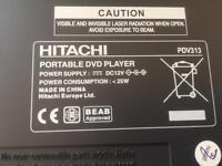 Hitachi Portable DVD Player