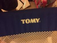 Tomy bed guard in blue color