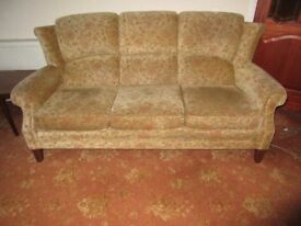 3 seater settee, 2 seater settee and armchair