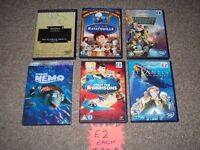 DVDS DISNEYS £2 EACH NO OFFERS