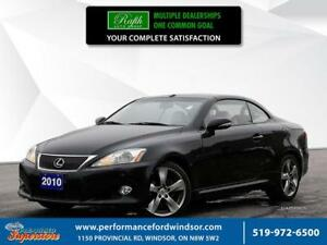 2010 Lexus IS250C **V6 HEATED AND COOLED SEATS**