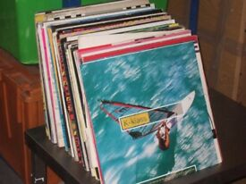 """125 x 12"""" Old Skool Dance Vinyl Records Collection."""