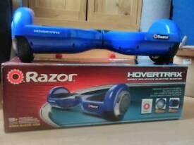 Blue razor hovertrax