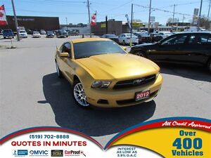 2012 Ford Mustang PREMIUM   V6   SAT   MUST SEE
