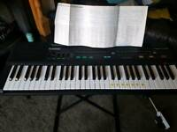Casio Casiotone CT-607 in full working order including stand.