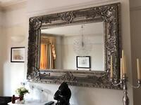 Amazing John Lewis overmantel mirror