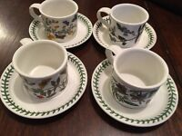 Portmeirion cups and saucers