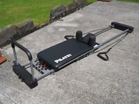 Aero pilates machine 3 cords including red power cord