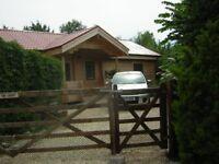 Scandinavian Log Cabin. 2 bedrooms, sleeps 6. suitable disabled. Quite, rural location.
