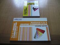 National 5 & 4 Graphic Communication Course Notes & National 5 and Higher Study Skills-All subjects