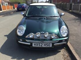 Mini Cooper 52 plate for sale. Good runner. Selling due to upgrade.