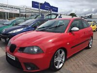 2006 06 SEAT IBIZA FR TDI HEAVILY MODIFIED CAR STUNNING LOOKING NEEDS TURBO OTHERWISE SOUND BARGAIN!