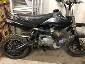 Stomp pit bike super stomp 120cc