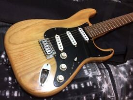 Stratocaster - Solid Ash body and upgrades