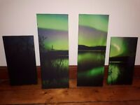 art wall northern ligths