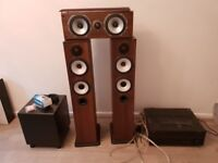 3.1 Home Cinema System (Montor Audio, BK Electronics, Yamaha)