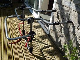 Spare Wheel type Bike Rack to fit two bikes CRV Freelander etc