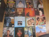 "huge record vinyl lp 12"" singles albums collection plus some cds rock pop easy etc"