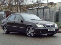 2007 (07) MERCEDES-BENZ C CLASS 2.1 C200 CDI AVANTGARDE SE 4DR – FULLY LOADED PX BMW,DIESEL,TDI,AMG